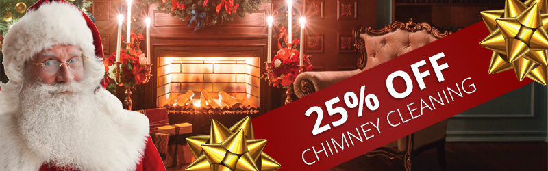 25% off chimney cleaning & inspections