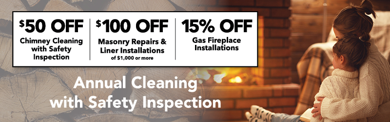 chimney cleaning & inspections