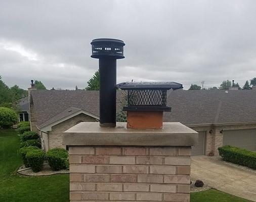 chimney crowns