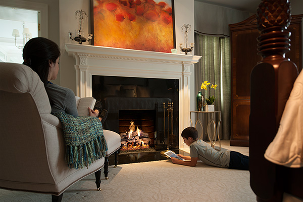 gas log fireplaces