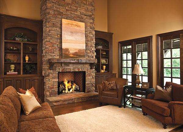 fireplace gas log
