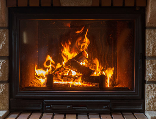 Gas Vs Wood Fireplaces Early Times
