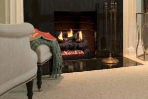 fireplace floor design
