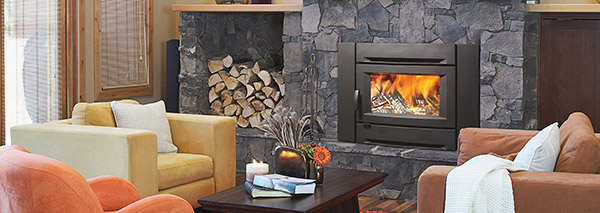 fireplace insert benefits