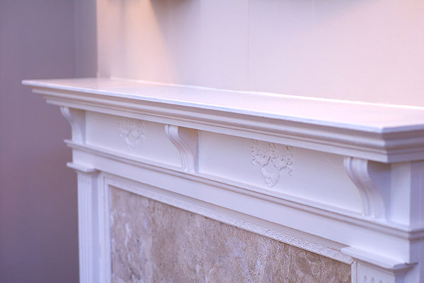 fireplace design mantel