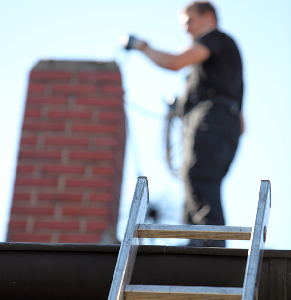 chimney sweeping safety