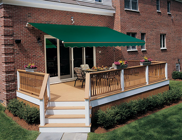 deck porch awning