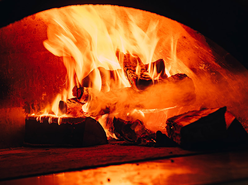 best wood for fireplace