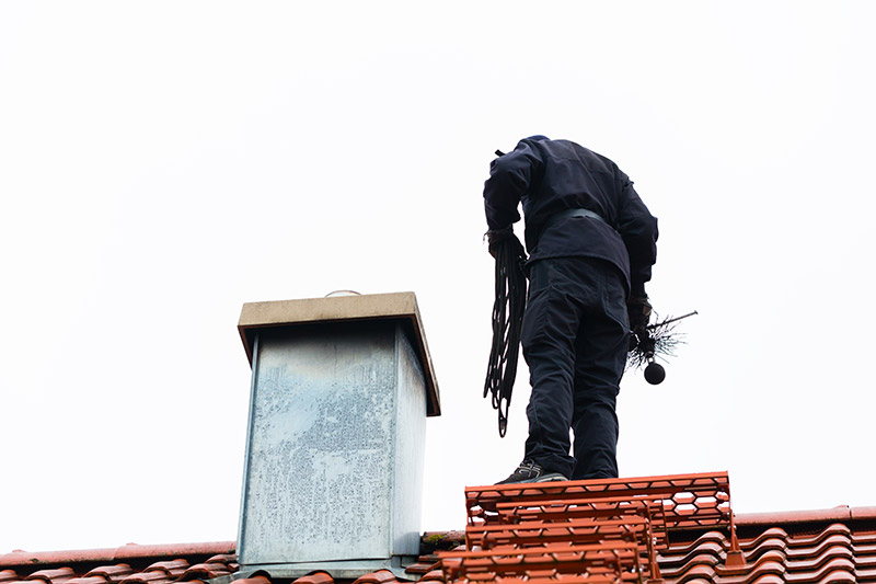 modern chimney sweep