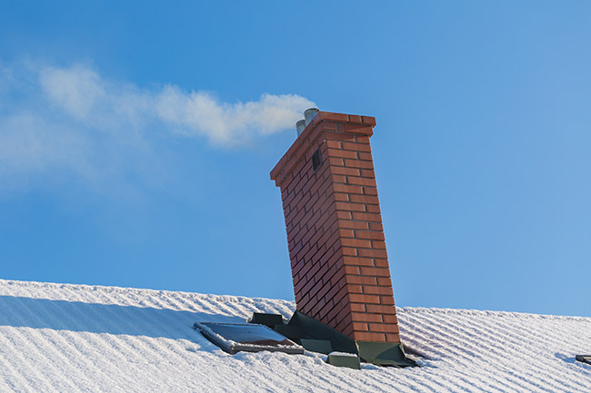 chimney pulling away from house