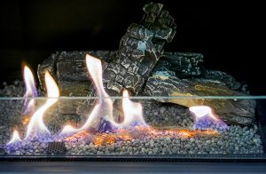 gas fireplace operation