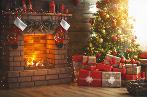 Christmas Fireplace Ideas