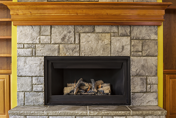 modern fireplace insert ideas
