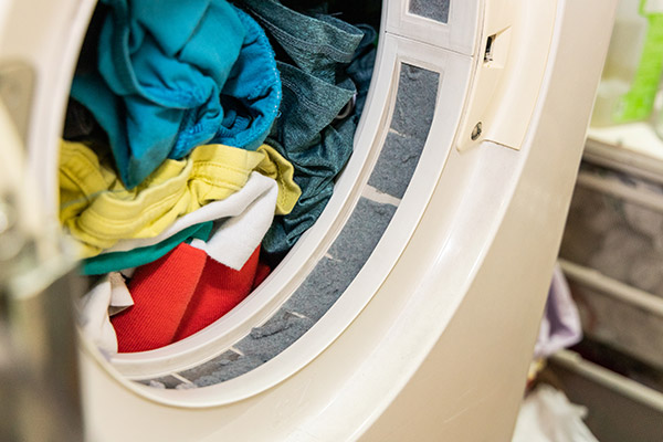 laundry dryer clogged vent