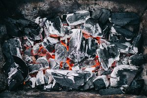 fireplace ashes for garden