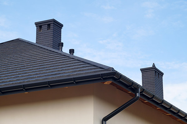 chimney with a liner