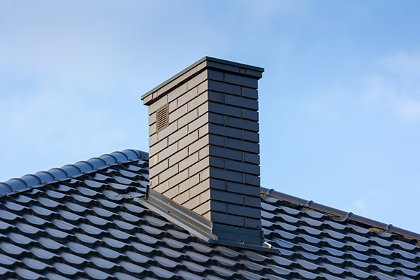 clean and maintained chimney