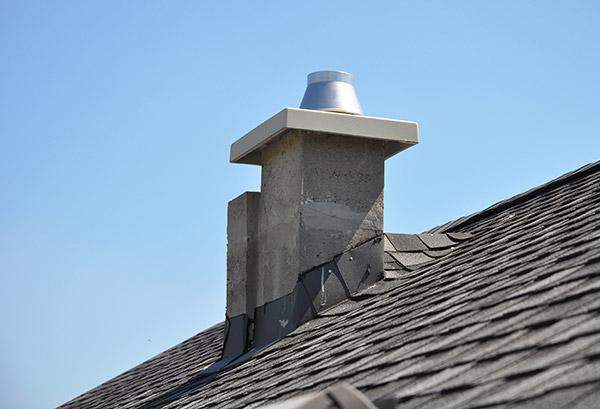 cracked chimney flue liner